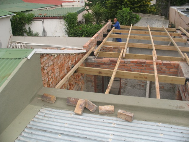 Parapet used in Refurbishment